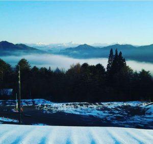 アルコピアスキー場から見た北アルプス‼